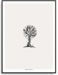 Artifero.com - Winter Tree plakat af Rune Carls